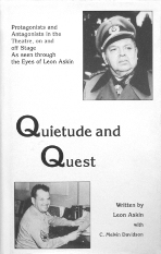 Book: Quietude and Quest